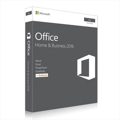 China Microsoft MAC Office 2016 Home and Business Web Download Directly distribuidor
